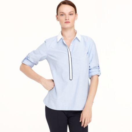 Image for SOLID OXFORD TUNIC from Tommy Hilfiger USA