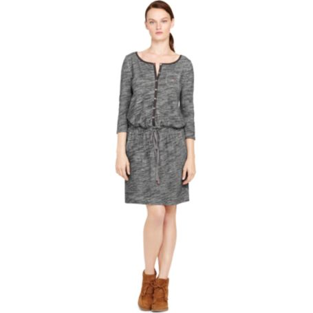 Image for DRAWSTRING WAIST KNIT DRESS from Tommy Hilfiger USA