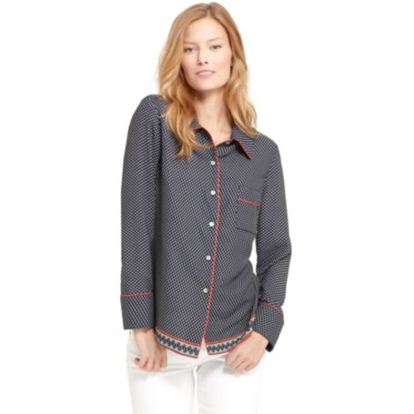 Image for PJ BUTTON DOWN SHIRT from Tommy Hilfiger USA