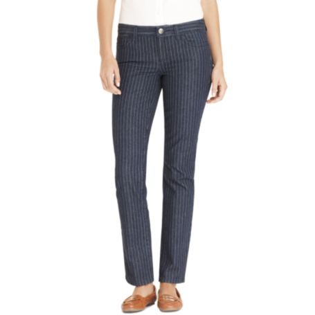 Image for MODERN FIT STRAIGHT - PINSTRIPE DENIM from Tommy Hilfiger USA