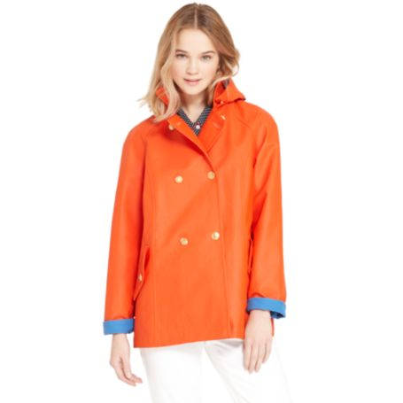 Image for A-LINE HOODED JACKET from Tommy Hilfiger USA