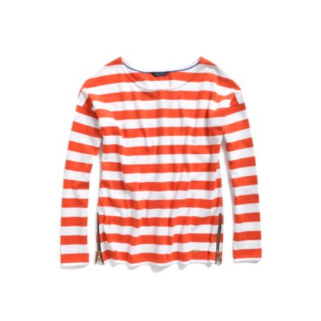 Image for CAPE STRIPE KNIT WITH ZIPPERS from Tommy Hilfiger USA