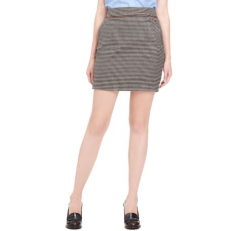 Image for HOUNDSTOOTH SKIRT from Tommy Hilfiger USA