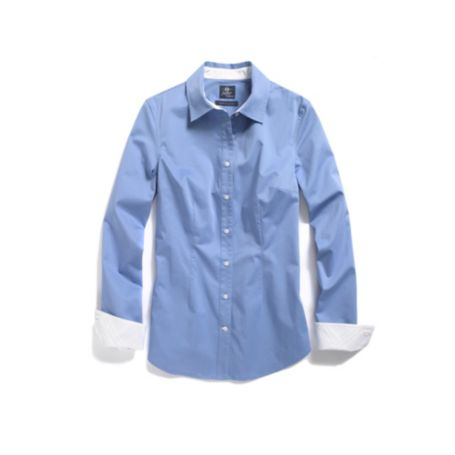 Image for STRETCH SATEEN SOLID SHIRT from Tommy Hilfiger USA