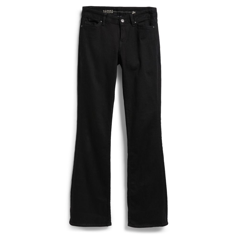 Image for CURVY BOOTCUT - BLACK WASH from Tommy Hilfiger USA