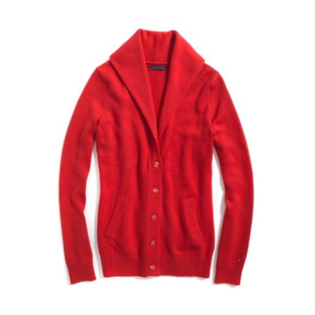 Image for SOLID SHAWL COLLAR CARDIGAN from Tommy Hilfiger USA
