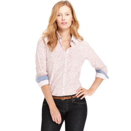 Image for MINI FLORAL PRINT SHIRT from Tommy Hilfiger USA
