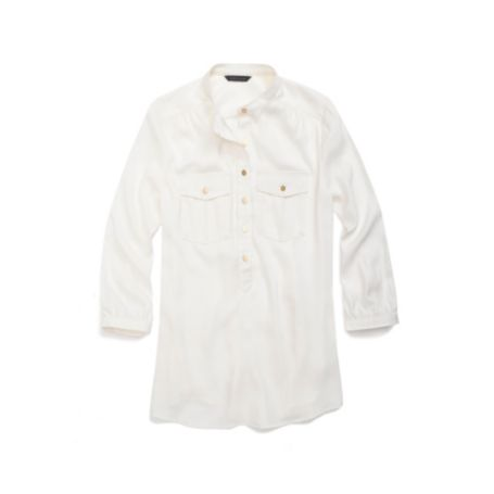 Image for SOLID SILKY UTILITY SHIRT from Tommy Hilfiger USA