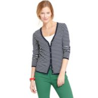 STRIPE V NECK SWEATER $69.99