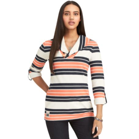 Image for SHAWL COLLAR TUNIC FLEECE from Tommy Hilfiger USA