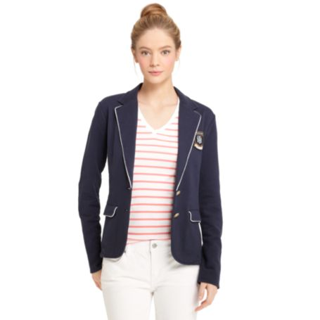 Image for FLEECE BLAZER from Tommy Hilfiger USA