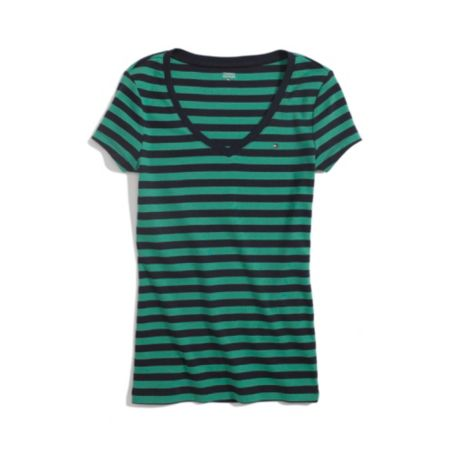 SHORT SLEEVE FAVORITE TEE NAUTICAL STRIPE
