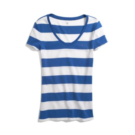 Image for RUGBY STRIPE FAVORITE TEE from Tommy Hilfiger USA