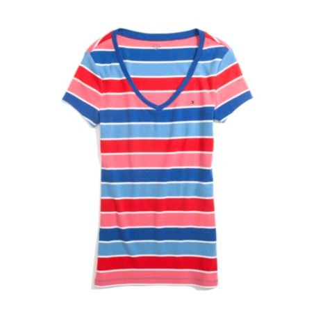 Image for STRIPE FAVORITE TEE from Tommy Hilfiger USA