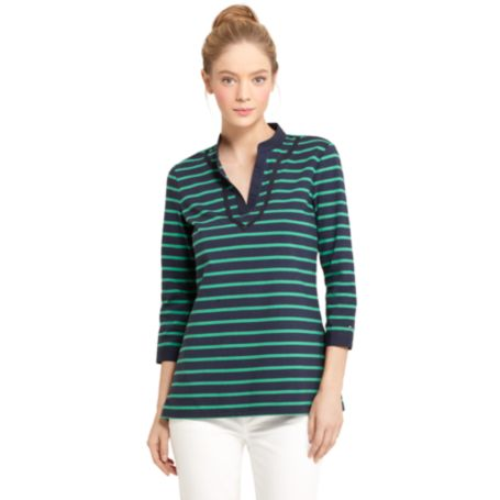 Image for STRIPE TUNIC TEE from Tommy Hilfiger USA