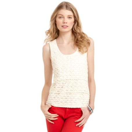 Image for LACE TANK from Tommy Hilfiger USA