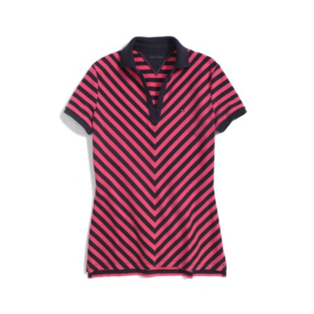 Image for CHEVRON STRIPE POLO from Tommy Hilfiger USA