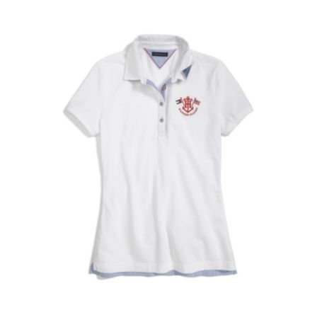 Image for TH EMBROIDERED POLO from Tommy Hilfiger USA