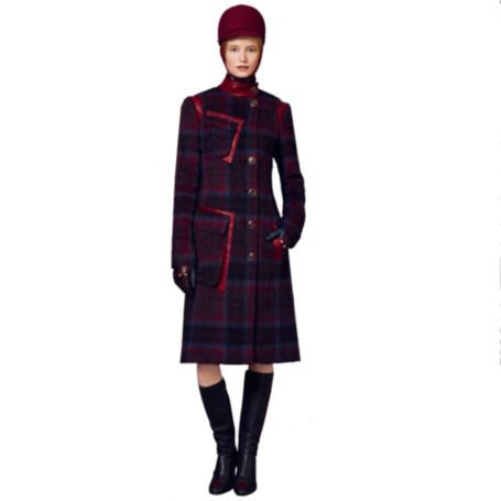 Image for PLAID CHECK COAT from Tommy Hilfiger USA