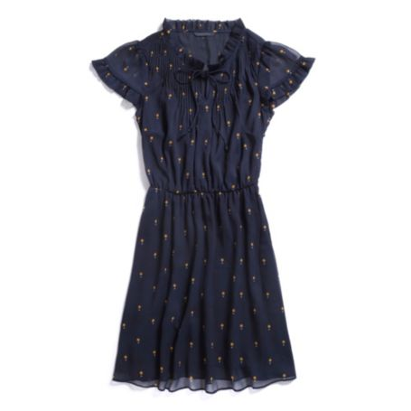 Image for SHORT SLEEVE PRINTED DRESS from Tommy Hilfiger USA