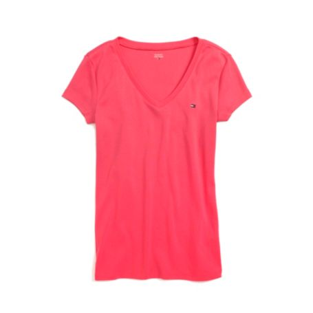 Image for V NECK FAVORITE TEE from Tommy Hilfiger USA