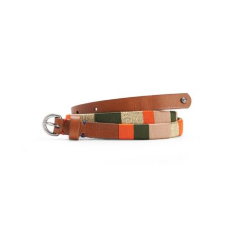Image for LEATHER SLIM BELT from Tommy Hilfiger USA