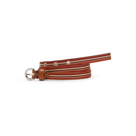 Image for SLIM STRIPE BELT from Tommy Hilfiger USA