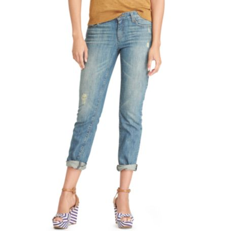 Image for CLASSIC FIT BOYFRIEND JEAN from Tommy Hilfiger USA