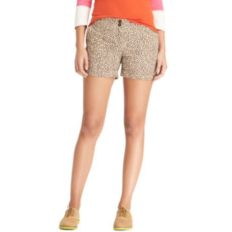 Image for LEOPARD PRINT SHORT from Tommy Hilfiger USA