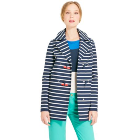 Image for STRIPED DUFFLE JACKET from Tommy Hilfiger USA