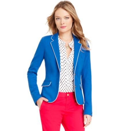 Image for PUNTO MILANO TIPPED BLAZER from Tommy Hilfiger USA