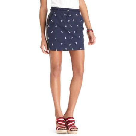 Image for ANCHOR EMBROIDERED SKIRT from Tommy Hilfiger USA