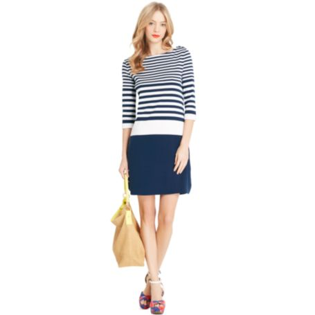 Image for 3/4 COLORBLOCK DRESS from Tommy Hilfiger USA