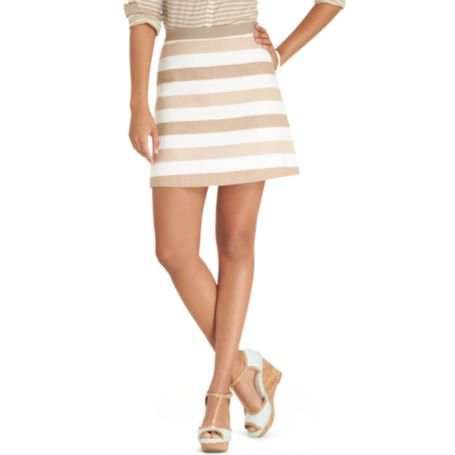 Image for STRIPED SKIRT from Tommy Hilfiger USA
