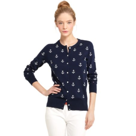 Image for ANCHOR INTARSIA CARDIGAN from Tommy Hilfiger USA