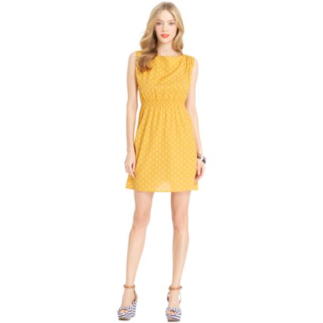 Image for SLEEVELESS GEO PRINT DRESS from Tommy Hilfiger USA
