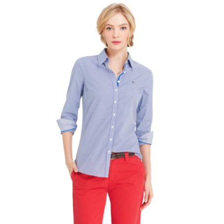 Image for MINI GINGHAM SHIRT from Tommy Hilfiger USA