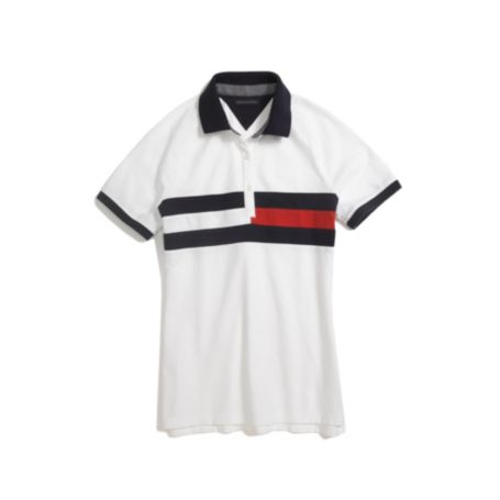 Image for FLAG PIECED POLO from Tommy Hilfiger USA