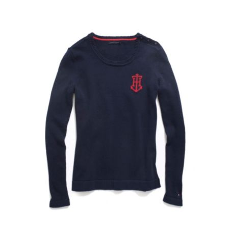 Image for TH ANCHOR SWEATER from Tommy Hilfiger USA