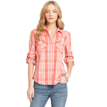 Image for PLAID WESTERN SHIRT from Tommy Hilfiger USA