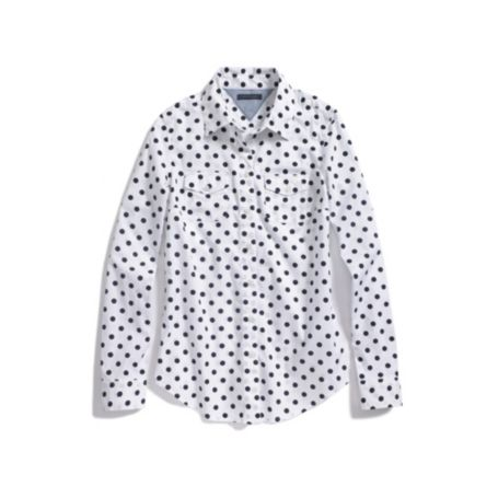 Image for DOT PRINT SHIRT from Tommy Hilfiger USA