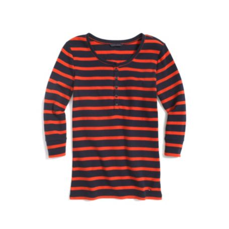 Image for STRIPE WAFFLE HENLEY from Tommy Hilfiger USA