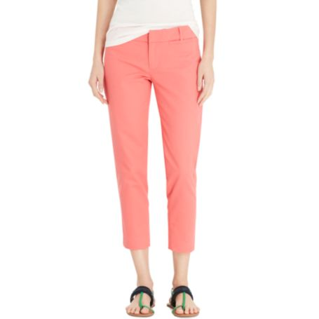 Image for CLASSIC FIT DOUBLE CLOTH CROP PANT from Tommy Hilfiger USA