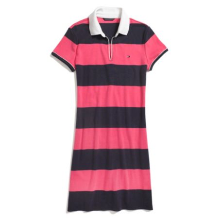 Image for STRIPED POLO DRESS from Tommy Hilfiger USA