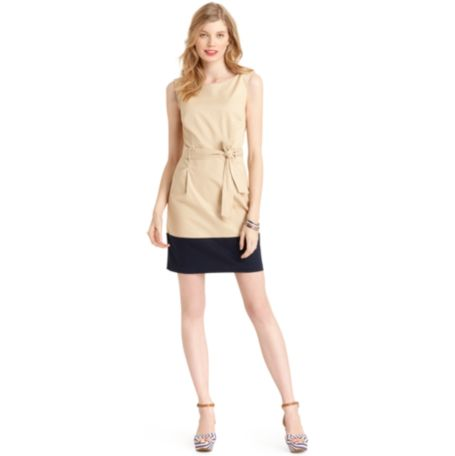 Image for BELTED SHEATH DRESS from Tommy Hilfiger USA