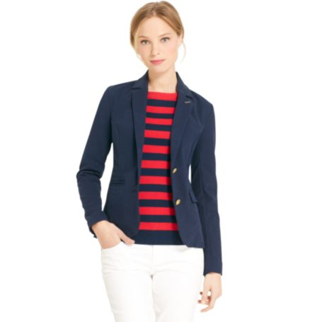 Image for DOUBLE CLOTH BLAZER from Tommy Hilfiger USA
