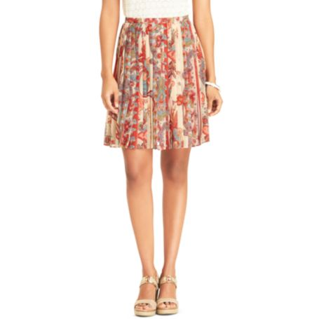 Image for PAISLEY PLEATED SKIRT from Tommy Hilfiger USA