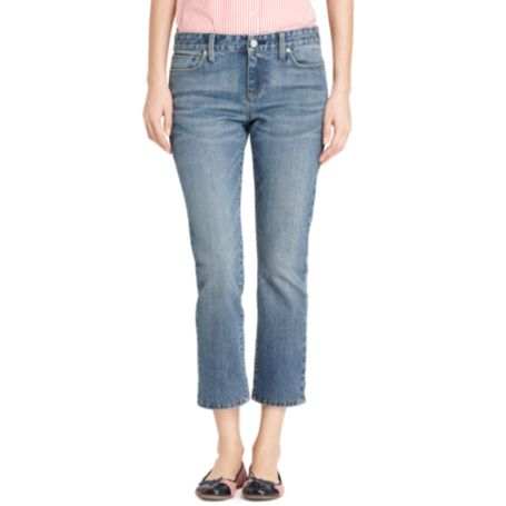 Image for MODERN FIT CROP- DARK WASH from Tommy Hilfiger USA
