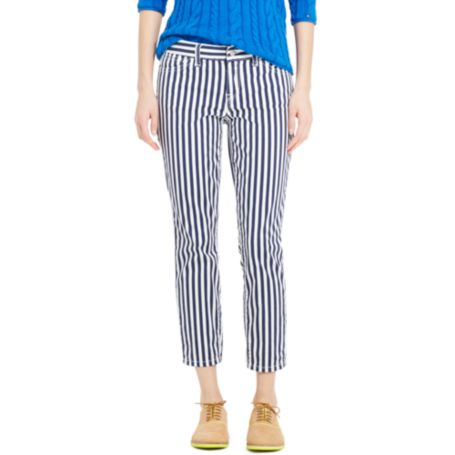 Image for MODERN FIT ANKLE JEAN - BOLD STRIPE from Tommy Hilfiger USA