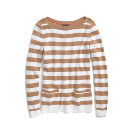 Image for BOAT NECK STRIPE SWEATER from Tommy Hilfiger USA